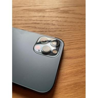 Защитное стекло на камеру для iPhone 12Pro Max с черным кантом - 1шт., фото №9, добавлено пользователем