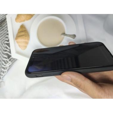 """Приватное (anti-spy) 3D защитное стекло на iPhone 12/12 Pro (6,1"""") Vpro 0,3 мм черная рамка, фото №4, добавлено пользователем"""