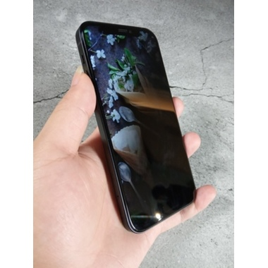 Приватное 3D защитное стекло на iPhone 12 Pro Max Vpro 0,3 мм черная рамка, фото №2, добавлено пользователем