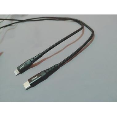 Type C - Lightning MFI кабель для iPhone/iPad/iPod - 120 см черный, фото №8, добавлено пользователем