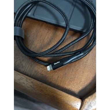 Type C - Lightning MFI кабель для iPhone/iPad/iPod - 120 см черный, фото №16, добавлено пользователем