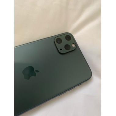 Защитное стекло на камеру iPhone 11 Pro/11 Pro Max, KR (Green) - 2 шт., фото №8, добавлено пользователем