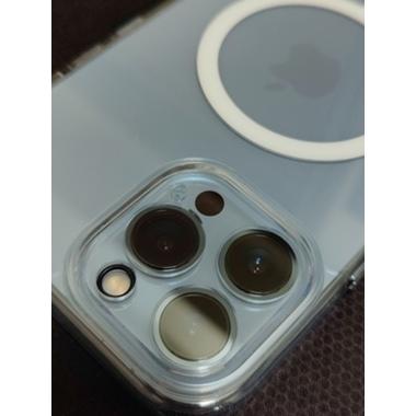 Защитное стекло на камеру для iPhone 13 Pro/13 Pro Max с черным кантом - 1шт., фото №4, добавлено пользователем