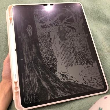 Benks матовая защитная пленка для iPad Pro 12,9 (2018/2020), фото №5, добавлено пользователем