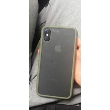 Чехол для iPhone X/Xs - зеленый Magic Smooth, фото №2, добавлено пользователем