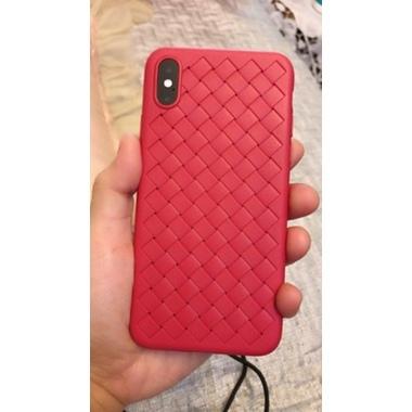 Benks чехол для iPhone X серия Weaveit - красный, фото №2, добавлено пользователем
