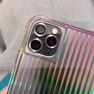 Сапфировое защитное стекло на камеру iPhone 11 Pro/11 Pro Max, мет. рамка DR (Silver) - 1шт., фото №6, добавлено пользователем