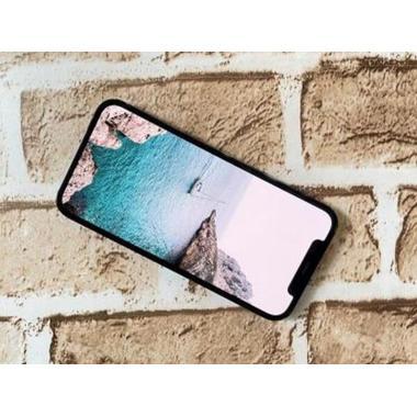 """Защитное стекло 3D на iPhone 12 mini (5,4"""") Vpro 0,3 мм черная рамка, фото №3, добавлено пользователем"""