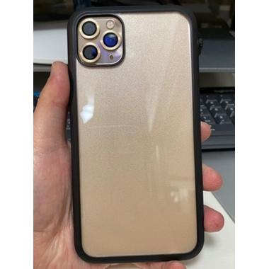 Защитное стекло на камеру iPhone 11 Pro/11 Pro Max, мет. рамка KR (Gold) - 1 шт., фото №6, добавлено пользователем