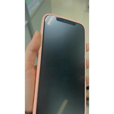 """Матовое защитное стекло 3D на iPhone 12/12 Pro (6,1"""") Vpro 0,3 мм черная рамка, фото №4, добавлено пользователем"""
