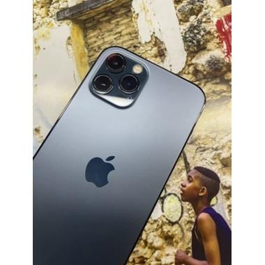 Защитное стекло на камеру для iPhone 12Pro Max с черным кантом - 1шт., фото №4, добавлено пользователем