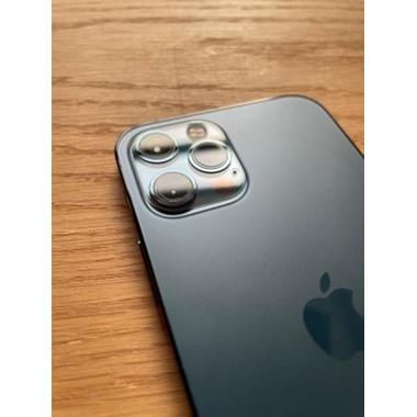 Защитное стекло на камеру для iPhone 12Pro Max с черным кантом - 1шт., фото №8, добавлено пользователем