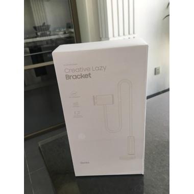 Гибкий универсальный металлический держатель для телефона (смартфона) на штанге 880 мм, 360°, фото №3, добавлено пользователем