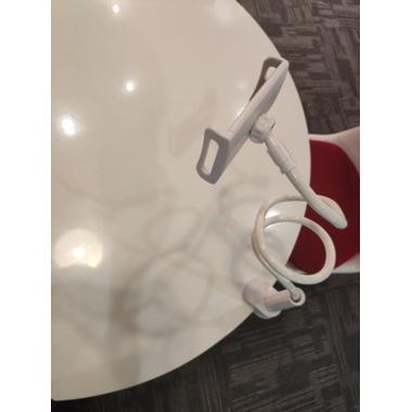 Гибкий универсальный металлический держатель для телефона (смартфона) на штанге 880 мм, 360°, фото №4, добавлено пользователем