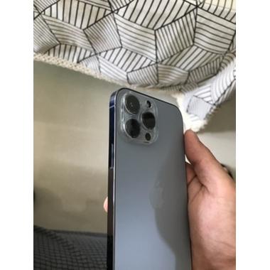 Защитное стекло на камеру для iPhone 13 Pro/13 Pro Max с черным кантом - 1шт., фото №2, добавлено пользователем