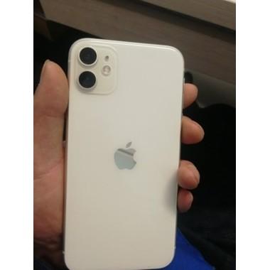 Защитное стекло на камеру iPhone 11, белая рамка KR - 2шт., фото №5, добавлено пользователем