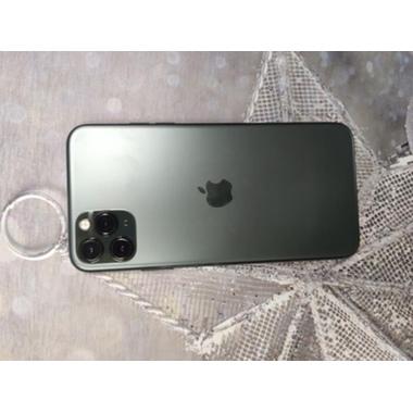 Защитное стекло на камеру iPhone 11 Pro/11 Pro Max, KR (Green) - 2 шт., фото №2, добавлено пользователем