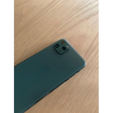 Защитное стекло на камеру iPhone 11 Pro/11 Pro Max, KR (Green) - 2 шт., фото №12, добавлено пользователем