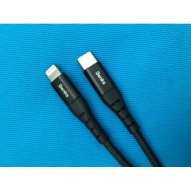 MFI Lightning Type C кабель 120 см. серия M16 3A, фото №11, добавлено пользователем