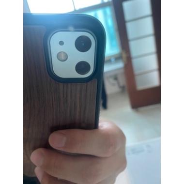 Защитное стекло на камеру iPhone 11, белая рамка KR - 2шт., фото №3, добавлено пользователем