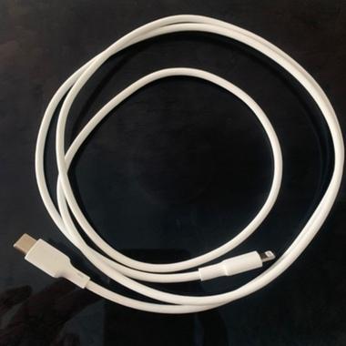 Benks Type C - Lightning кабель белого цвета MFI - 120 см, фото №4, добавлено пользователем