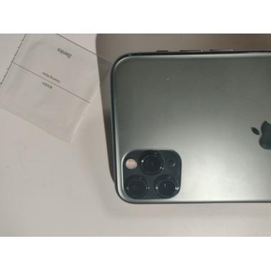 Защитное стекло на камеру iPhone 11 Pro/11 Pro Max, KR (Green) - 2 шт., фото №11, добавлено пользователем