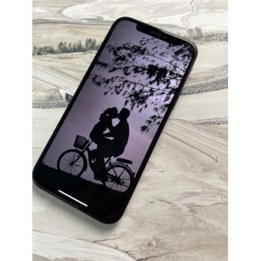 Защитное стекло на iPhone 12 Pro Max 3D Vpro 0,3 мм черная рамка, фото №3, добавлено пользователем