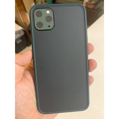 Защитное стекло на камеру iPhone 11 Pro/11 Pro Max, KR (Green) - 2 шт., фото №6, добавлено пользователем