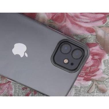 Защитное стекло на камеру для iPhone 12 mini с черным кантом - 1шт., фото №3, добавлено пользователем