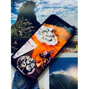 Защитное стекло на iPhone 12 Pro Max 3D Vpro 0,3 мм черная рамка, фото №4, добавлено пользователем