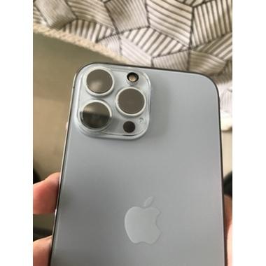 Защитное стекло на камеру для iPhone 13 Pro/13 Pro Max с черным кантом - 1шт., фото №3, добавлено пользователем