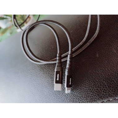Type C - Lightning MFI кабель для iPhone/iPad/iPod - 120 см черный, фото №5, добавлено пользователем