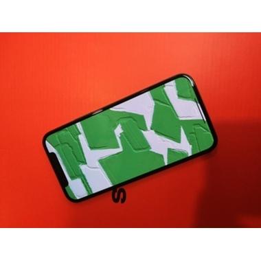 Защитное стекло iPhone 12 Pro Max 3D Vpro (green light) 0,3 мм черная рамка, фото №4, добавлено пользователем