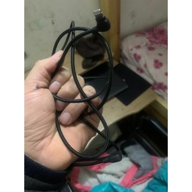 Type C - lightning кабель 150 см под 90 градусов - черный, фото №7, добавлено пользователем
