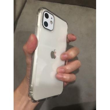 Защитное стекло на камеру iPhone 11, белая рамка KR - 2шт., фото №10, добавлено пользователем