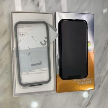 Benks VPro  матовое защитное стекло на iPhone XS/X/11 Pro - 0.3 mm, фото №4, добавлено пользователем