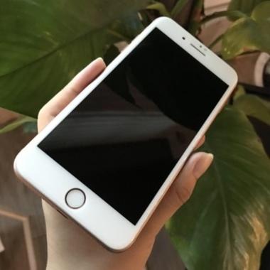 Benks 3D приватное защитное стекло для iPhone 7 Plus - белое, фото №2, добавлено пользователем