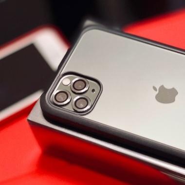 Сапфировое защитное стекло на камеру iPhone 11 Pro/11 Pro Max, мет. рамка DR (Silver) - 1шт., фото №2, добавлено пользователем