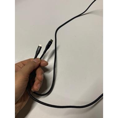 Type C - Lightning MFI кабель для iPhone/iPad/iPod - 120 см черный, фото №12, добавлено пользователем