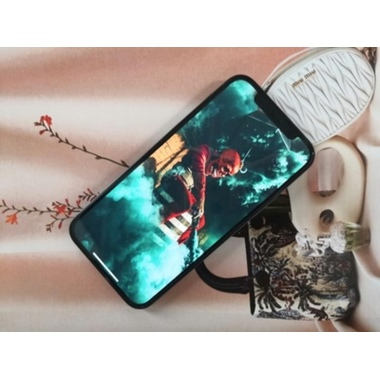 "Защитное стекло 3D на iPhone 12/12 Pro (6,1"") Vpro (green light) 0,3 мм черная рамка, фото №5, добавлено пользователем"