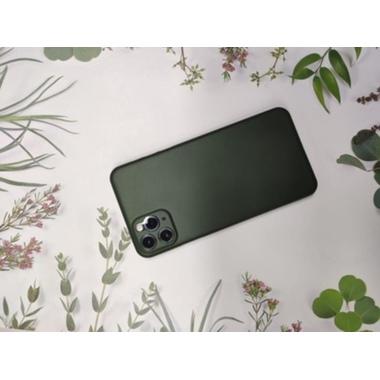 Чехол для iPhone 11 Pro Max 0,4 mm - темно-зеленый LolliPop, фото №4, добавлено пользователем