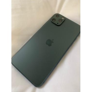 Защитное стекло на камеру iPhone 11 Pro/11 Pro Max, KR (Green) - 2 шт., фото №7, добавлено пользователем