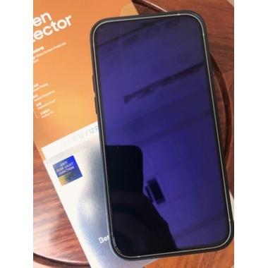 Защитное  стекло на iPhone 12/12Pro OKR Anti Blue - 0.3 мм.  2.5D скругление, фото №2, добавлено пользователем