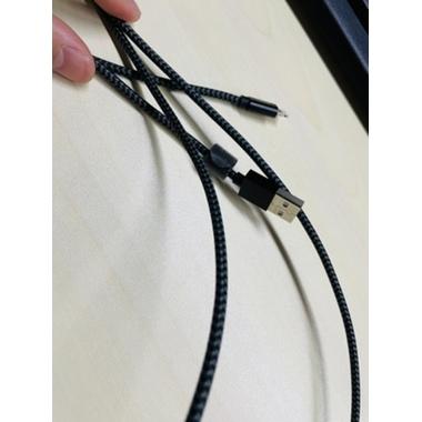 Кабель Lightning MFI Amber 1,8 м, фото №2, добавлено пользователем