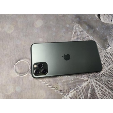 Защитное стекло на камеру iPhone 11 Pro/11 Pro Max, KR (Green) - 2 шт., фото №3, добавлено пользователем
