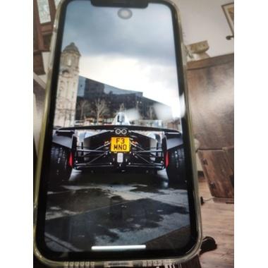 "Защитное стекло 3D на iPhone 12/12Pro (6,1"") Vpro 0,3 мм черная рамка, фото №4, добавлено пользователем"