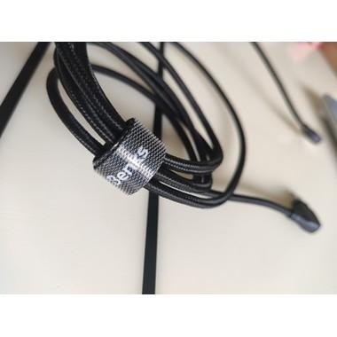 Lightning USB MFI кабель под 90 градусов - черный Elbow, фото №2, добавлено пользователем