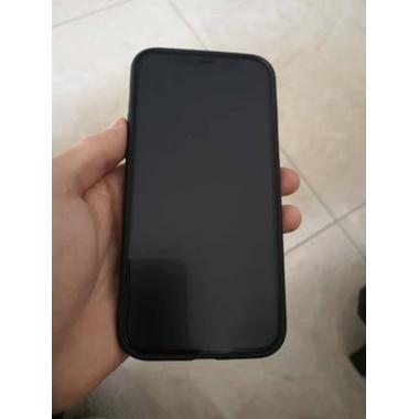"""Матовое защитное стекло 3D на iPhone 12/12 Pro (6,1"""") Vpro 0,3 мм черная рамка, фото №3, добавлено пользователем"""