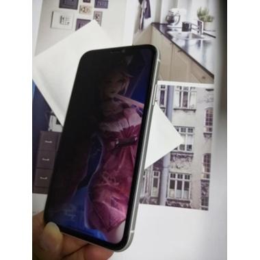 Защитное стекло антишпион для iPhone Xr/11 (Anti-Spy), фото №24, добавлено пользователем