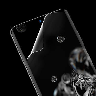 Benks гидрогелевая защитная пленка для Samsung S20 Ultra - 3D серия RR, 2шт., фото №1